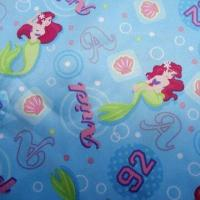 China Satin Fabric with Cartoon Printing, Fire Retardant Feature, Used for Babywear on sale