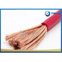 China Welding Cable Rubber Insulated Flexible Copper Conductor Cable 450/750 Voltage on sale