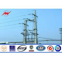 China Steel Electrical Utility Power Poles Antenna Telecommunication Application on sale