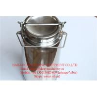 SS304 Milk Cans , 20L Milk Bucket For Milk Transportation and Storage Manufactures