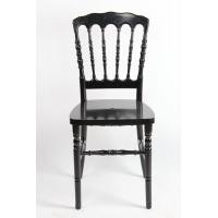 Black Poly Carbonate / Acrylic Resin Napoleon Chair UV Resistant For Party Manufactures