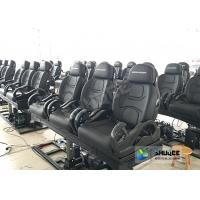 3DOF Fiberglass Black 5D Theater System Motion Chair Cabin For Park Manufactures