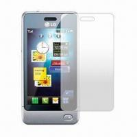 LCD Screen Protectors, Anti-scratch, Anti-glare Clear Screen Protector for LG GD 510 Manufactures