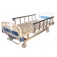 Stable Manual Hospital Bed , Hospital Equipment Bed Manual Operation Manufactures