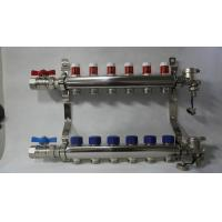 Radiant Floor Manifold For Underfloor Heating 304 Stainless Steel Manufactures
