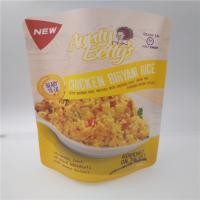 Rice Plastic Packaging Bags For Food , Granola Custom Printed Stand Up Pouches Manufactures