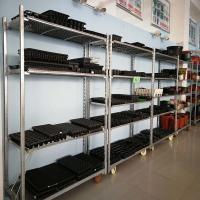 Heavy Duty Supermarket Shelf Rack 1.5-2.5 MM Depth For Warehouse And Garden Manufactures