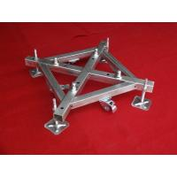 500mm x 500mm Iron Base Caster Truss Coupler For Aluminum Roof Truss Manufactures