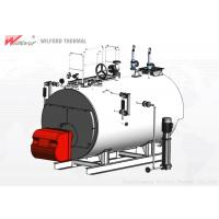 China High Safety Gas Fired Steam Boiler , Energy Efficient Steam Boilers Multi Chain Protection on sale