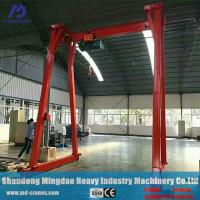 China China Factory Direct Supplied 5 ton Portable Gantry Crane with Best Service and Low Price on sale