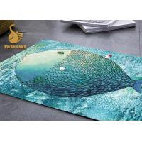 Customized Size Color Non Slip Area Rugs For Children OEM / ODM Available Manufactures