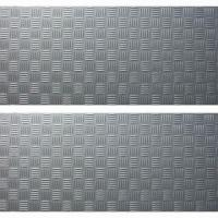 18 x 36 Inches Vinyl Floor Tiles with MT Embossing and Dry Back Manufactures