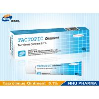 TACTOPIC Ointment (Tacrolimu Ointment 0.1%) , Anti-inflammatory Ointment Manufactures