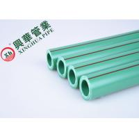 Green / White PPR Aluminum Pipe Polypropylene Raw Material Easy To Install Manufactures