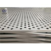 China Stainless Steel Round Holes Perforated Metal Sheets for Food Processing on sale