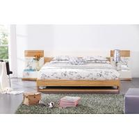 Quality Modern bedroom furniture by MDF in glossy painting melamine board in bed for sale