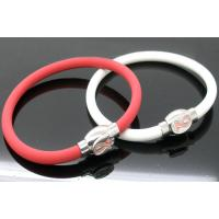 China Energy promotional silicone bracelets with negative ion of promotional silicone bracelets on sale