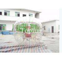 China Custom Ball Zorb Inflatable Zorb Ball With Logo Printing For Advertiaing Roller on sale