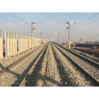 Fireproofing Highway Sound Barrier , Cold Rolled Freeway Noise Barriers Manufactures