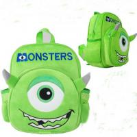 Monsters University Mike Kids School Backpacks Personalized , Green Manufactures