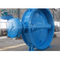 Soft Seated Two Flanged End Eccentric Butterfly Valve For Clear Water Manufactures