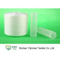 Strong TFO White Dyed Polyester Spun Yarn For High Speed Sewing Machine Manufactures