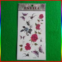 Fashion New products 2015 custom beauty body tattoos colorful temporary flower tattoo Manufactures