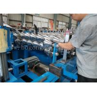 China High Speed Steel Roof Tile Roll Forming Machine For Galvanized Sheet / PPGI on sale