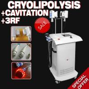 Professional Cryolipolysis+Cavitation+RF beauty equipment Manufactures