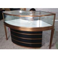 Buy cheap Showcases For Jewelry -  OEM Service For Brush Stainless Steel Jewelry Showcase from wholesalers