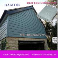Exterior wall cladding sheets with fiber cement board Manchester 3050*192*7.5/9mm Manufactures