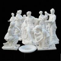 Apollo White Marble Statue for Garden, with Hand Carved and Polished Technic Manufactures