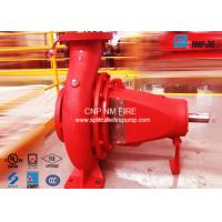 NFPA-20 Centrifugal End Suction Fire Pump One Stage For Oil Terminals Manufactures