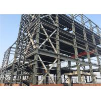 Large Residential Metal Buildings , Galvanizing Prefabricated Steel Frame Buildings Manufactures