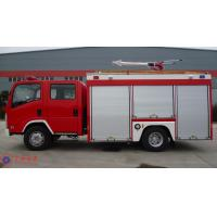 139KW Max Power Heavy Rescue Fire Truck Fuel Tank 100L AKRON Fire Monitor Manufactures
