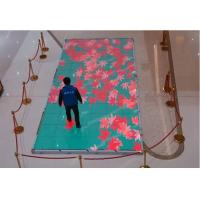 IP65 Full Color LED Video Display , P6.25 Dancing Floor LED Panel With Interactive Radar Manufactures