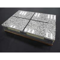 China Thermal Insulation Fireproof Fiber Cement Board Rock Wool Sandwich Panel on sale