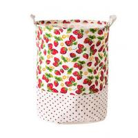 Printing Fabric Cloth Folding Laundry basket Manufactures