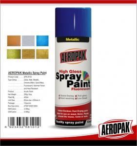 China Aerosol Spray Paints,   Chrome Effect, Gold Effect ,Metallic Paint on sale