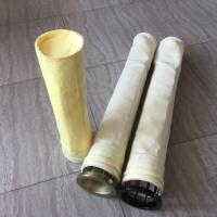 Customized PPS Baghouse Filter Bags Good Flame Retardancy For Coal Fired Boiler Manufactures