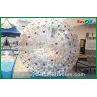Inflatable Sports Games Human Hamster Ball For Amusement Park Game Manufactures