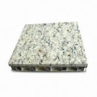 China Top Stone Honeycomb Panel with 20mm for Cladding and 6mm Thick Marble on sale