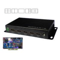 China 4 In1 Out DNF HDMI Video Splitter 1080P / 720P Resolution Support IR Control on sale