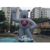 China 5m High Outdoor giant Inflatable Mascot for promotion and decoraction on sale