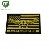 3D design Large Iron on Customized Embroidery Patches for clothing Manufactures