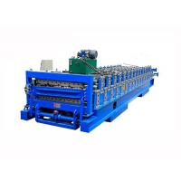 China Fully Automatic IBR Sheet Roll Forming Machine For Roofing Sheets / Tile Production on sale