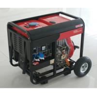 AC SIngle Phase 50HZ/4.6KW Key Start silent diesel generators for home use and shop Manufactures