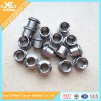 Hot Sale Pure Titanium And Titanium Alloy Chainring Nuts And Bolts Manufactures