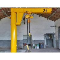 China Light Weight Column Mounted Jib Crane Hydraulic Mobile 10 Ton Overload Protection on sale