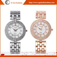 YQ10 Luxury Rose Gold Watch Silver Color Watches Girls Woman Stainless Steel Quartz Watch Manufactures